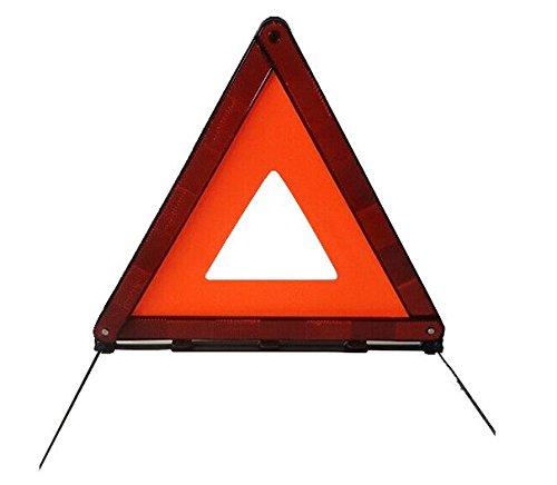 AUTLY Triangle davertissement Pliable LED S/écurit/é Voiture//Bord de la Route R/éfl/échissant Triangle Durgence R/éflecteur Clignotant
