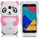 Voguecase® Pour Samsung Galaxy A5 (2016) SM-A510F, TPU Silicone Shell Housse Coque Étui Case Cover (Panda-Pink)+ Gratuit stylet l'écran aléatoire universelle