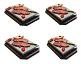 Promoción 4 Sets Piedra volcánica 20x30x3 Especial Restaurante
