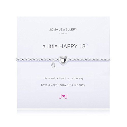 Joma Jewellery - A Little Happy 18th - Silver Bracelet