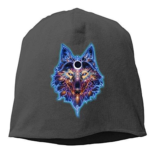 ASKYE Indian Art Wolves Native American Winter Beanie Skull Cap Warm Knit  Ski Slouchy Hat Durable 1d6e855377fc