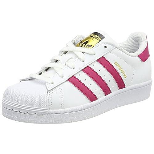 adidas Superstar Bold W, Sneakers Basses Femme, Blanc Cassé (FTWR White/Core Black/FTWR White), 40 EU