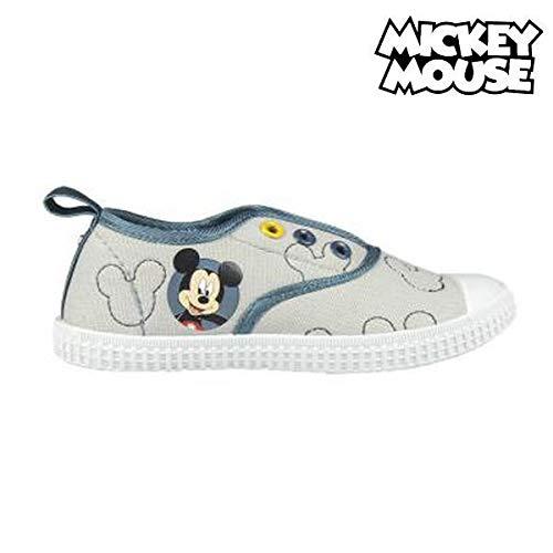 Disney Micky Maus 2300002884 Jungen Sneaker, Schuhe, Canvas, Grau (26)
