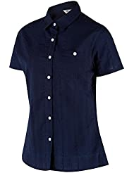 Regatta da donna RWS08454026L Jerbra II, camicia, blu navy, taglia 20