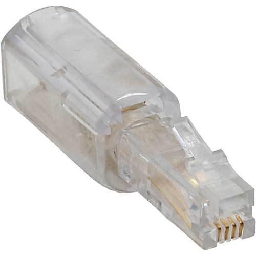 Twist-Stop, Entwirrer für Kabel von Telefonhörer, schmale kurze Bauform (10 x  Twist-Stop) -