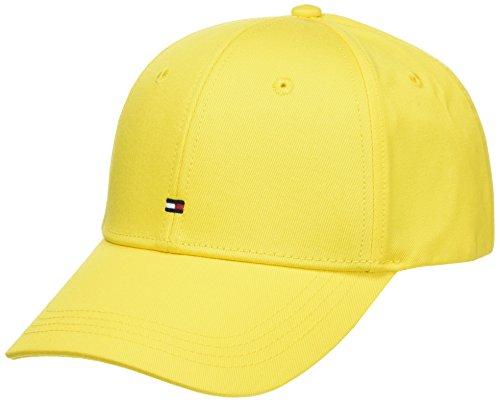 Tommy Hilfiger Herren Baseball Classic Bb Cap, Gelb (Lemon Yellow 903), One Size (Herstellergröße: OS)