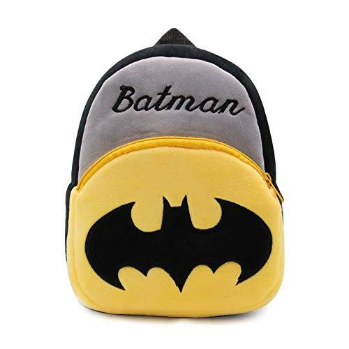 CDREAM Kleinkind Jungen Mädchen Kinder Kinder Rucksack Animal Schule Tasche,Batman-23 * 21 * 9cm