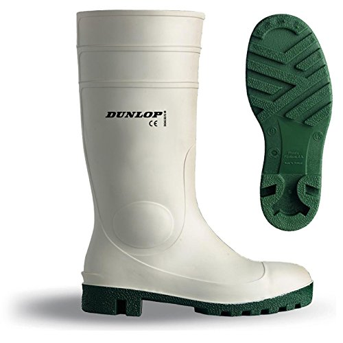 Dunlop Protomastor safety weiß, EN ISO 20345 SB, Größe (Stiefel Männer Weiß)