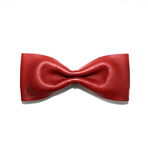 PAPILLON LEATHER PUSSY RED - SLIM (Red Freestyle Papillon)