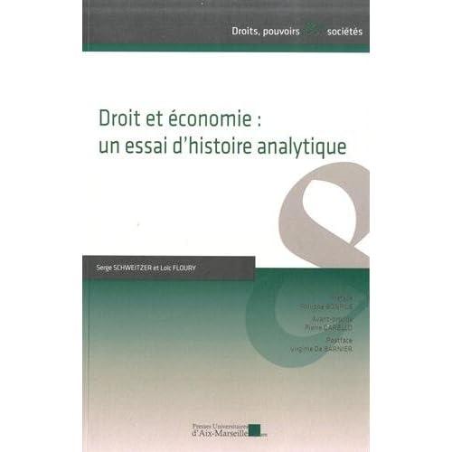 Droit et économie : un essai d'histoire analytique