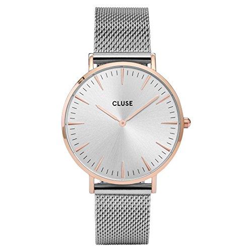 Cluse Montre Femme Analogique Quartz avec Bracelet en Acier Inoxydable – CL18116