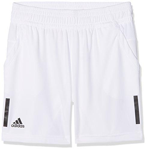 adidas Club 3-Streifen Shorts Jungen, White, 128