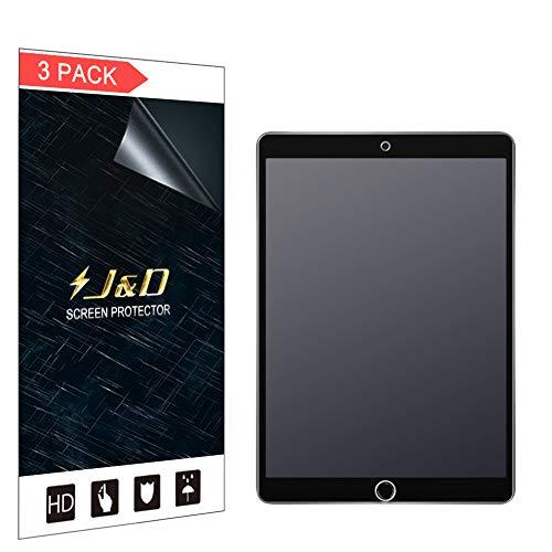 JundD Kompatibel für 3-Pack New iPad Air (2019) 10.5 inch Schutzfolie, [Antireflektierend] [Nicht Ganze Deckung] Matte Folie Bildschirmschutzfolie für New iPad Air 10.5 inch (Release in 2019) Bildschirmschutz