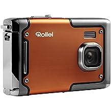 Rollei Sportsline 85 - Digitalkamera - 8 Megapixel - 1080p Full HD Videofunktion - wasserdicht bis zu 3 Metern - Orange