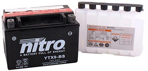 NITRO YTX9-BS -N - Batterie, nero