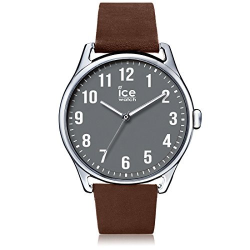 ICE-Watch Time Man Stopwatch Watch with Grey Dial Analogue Display - 13049