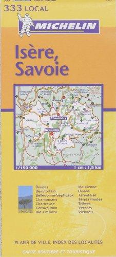 Carte routière : Isère - Savoie, N° 11333