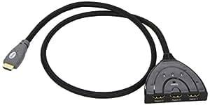 Vivanco HDMI Umschalter, 3auf1, 3D-fähig, automatic, max.1080p, 0,80 m