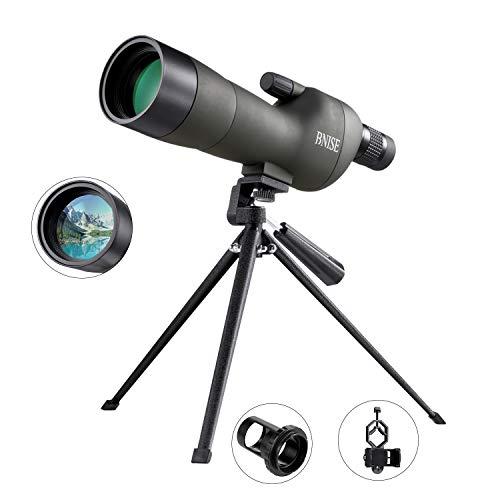BNISE® Telescopio terrestre Profesional, Zoom 20-60x60, Lentes
