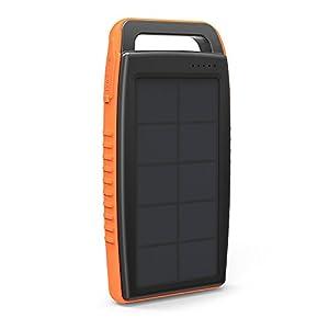 RAVPower Caricatore Solare Portatile 15000mAh, Caricabatterie 15000 con Doppio Metodo di Ricarica (Ricarica Tramite… 4 spesavip