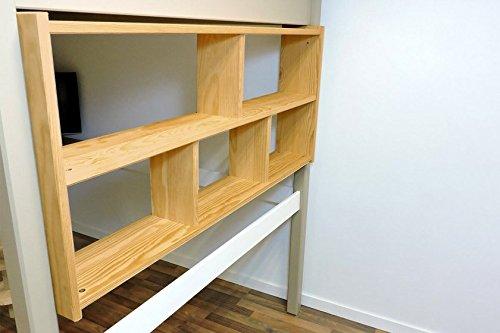 Etagenbett Abc : Etagenbett luca ii mit seitlicher treppe farben farbe a