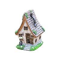HH Home Hut Fairy House Garden Window Box Decor Pixie Ornament