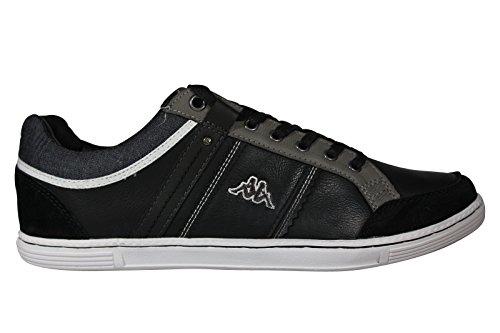 Kappa Ottawa, Herren Sneaker Schwarz