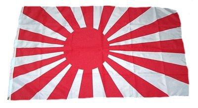 Fahne / Flagge Japan alt Kriegsflagge 90 x 150 cm (Japan Flagge)