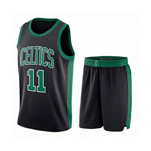 aaaecbd2c7aa Boston Celtics Kyrie Irving # 11 Trikot - Klassisches ärmelloses Set,  Boston Jersey, Basketball für Männer und Unisex Basket Suit T-Shirt Genähte  ...