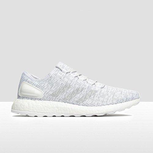 adidas Pureboost, Scarpe da Corsa Uomo White/Clear Grey