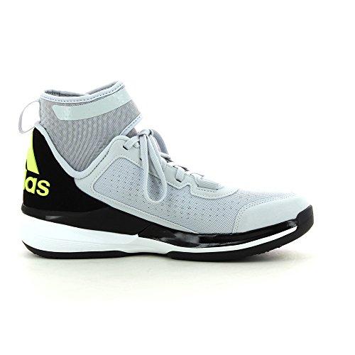Chaussures de Basket ADIDAS Crazy Ghost 2015 Grise/Jaune Fluo Gris