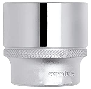 "CAROLUS 5112.30 Steckschlüsseleinsatz 1/2"", 12-kant, 30 mm, 1 Stück"