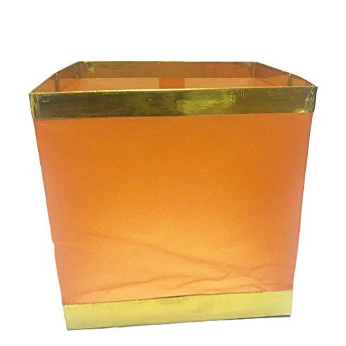 Chinesische Kerze (Herxuhouse Wasser schwimmende Laternen Kerze Laternen für Party Dekoration 10Stück Chinesischen Laternen Orange)