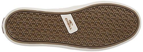 O'NEILL Snapper Slipon canvas Herren Sneakers Weiß (Powder White (1030))