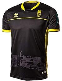 Errea Granada CF Segunda Equipación 2018-2019, Camiseta, Negro, Talla XL