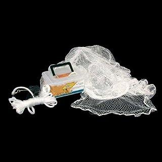 Ahi 100Series Nylon Cast Net with 3/8-inch Mesh, White, 4-feet by Achi