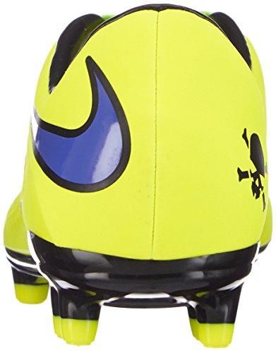 Nike 599730-758, Chaussures de Football Homme Gelb (Volt/Persian Violet-Hot Lava-Black)