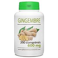 Le gingembre (Zingiber officinale) est une espèce de plantes originaire d'Asie, du genre Zingiber et de la famille des Zingiberaceae dont on utilise le rhizome en cuisine et en médecine traditionnelle. Ce rhizome est une épice très employée dans un g...