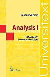 Analysis I: Convergence, Elementary functions