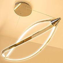 Lu-Mi® LED Pendelleuchte Höhenverstellbar Küchen Deckenleuchte Wohnzimmer Designleuchte Deckenlampe Schlafzimmer Modern (Sunset Lina)