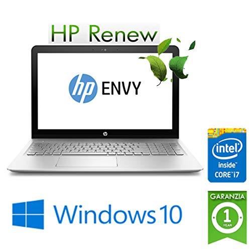 """Notebook HP ENVY 15-as111nl Core i7-7500U 8Gb Ram 1Tb 15.6"""" Windows 10 Home (ricondizionato certificato)"""