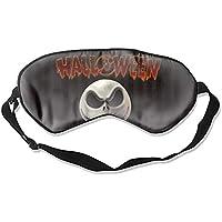 Halloween-Schlafmaske mit verstellbarem Riemen für Damen und Herren preisvergleich bei billige-tabletten.eu