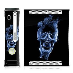 DeinDesign Microsoft Xbox Folie Skin Sticker aus Vinyl-Folie Aufkleber Halloween Skull Smoke