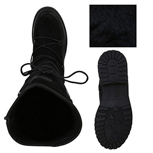 Stiefelparadies , bottines classiques femme Noir