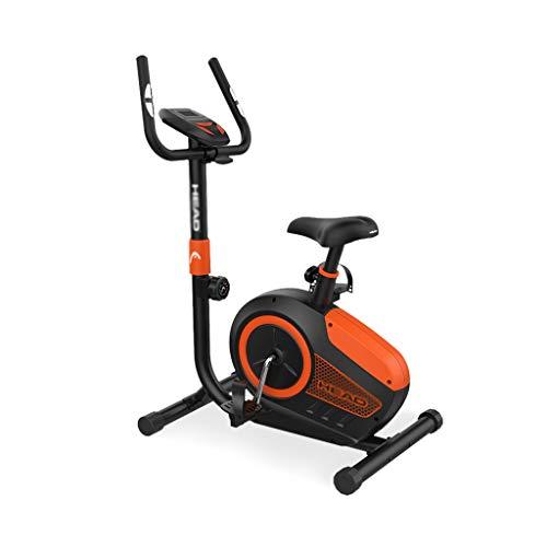 Fitness Bike Esercizio Bici da casa Controllo Magnetico Interno Muto Sport Bicicletta Pedale Bicicletta da Spinning Ellittiche (Color : Black, Size : 73 * 49 * 130cm)