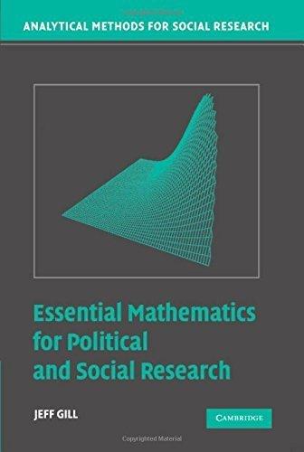 Essential Mathematics for Political and Social Research (Analytical Methods for Social Research)