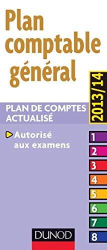 Plan comptable général 2013/2014-14e édition - Plan de comptes actualisé