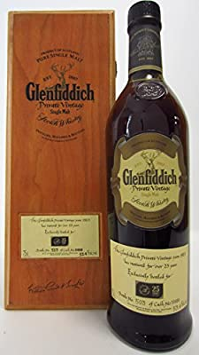 Glenfiddich - Private Vintage Cask #10888 - 1983 25 year old Whisky