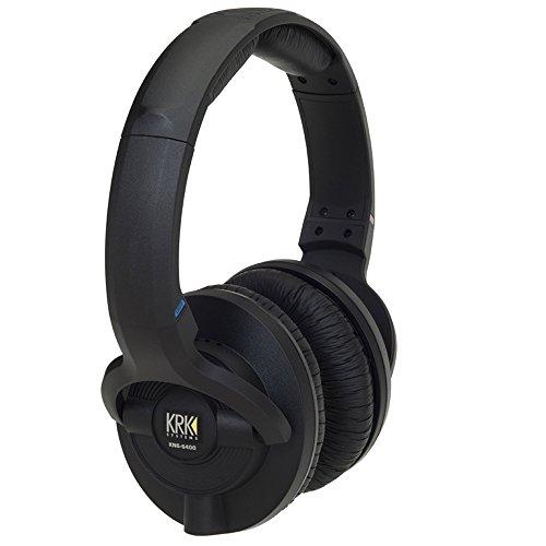 KRK KNS 6400 Headphones Closed back headphones by KRK
