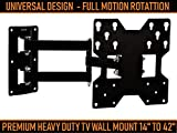 Maxicom Super Heavy Duty TV Wall Mount Bracket for 14 to 42 inch